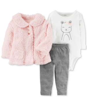 Carter's 3-Pc. Fleece...