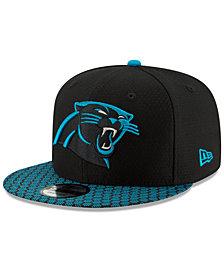 New Era Carolina Panthers Sideline 9FIFTY Snapback Cap