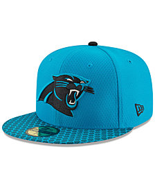 New Era Boys' Carolina Panthers Sideline 59FIFTY Fitted Cap