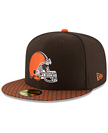 New Era Boys' Cleveland Browns Sideline 59FIFTY Fitted Cap