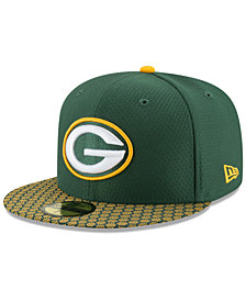 New Era Boys' Green Bay Packers Sideline 59FIFTY Fitted Cap