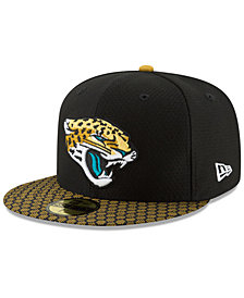 New Era Boys' Jacksonville Jaguars Sideline 59FIFTY Fitted Cap