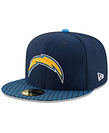 New Era Boys' Los Angeles Chargers Sideline 59FIFTY Fitted Cap