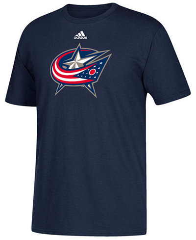 adidas Men's Columbus Blue Jackets Primary Go To T-Shirt