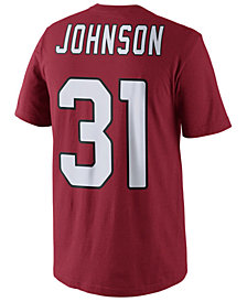 Nike Men's David Johnson Arizona Cardinals Pride Name and Number T-Shirt