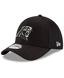New Era Carolina Panthers Black/White Neo MB 39THIRTY Cap