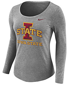 Nike Women's Iowa State Cyclones Tri Blend Logo T-Shirt