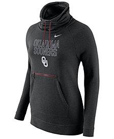 Nike Women's Oklahoma Sooners Funnel Neck Hoodie