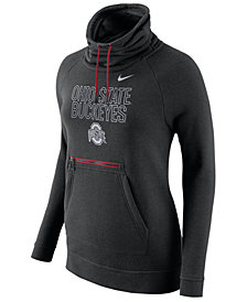 Nike Women's Ohio State Buckeyes Funnel Neck Hoodie