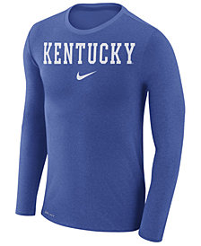 Nike Men's Kentucky Wildcats Marled Long Sleeve T-Shirt