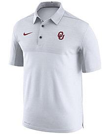 Nike Men's Oklahoma Sooners Elite Coaches Polo