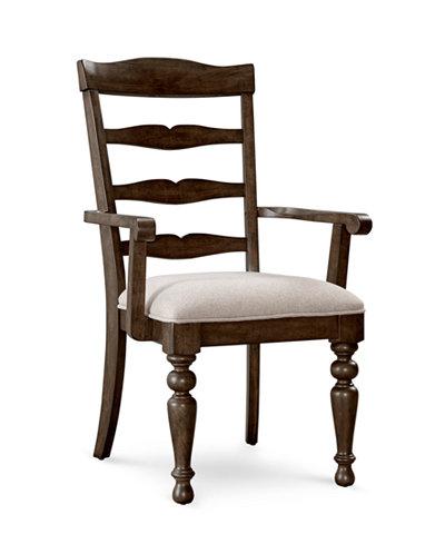 CLOSEOUT! Hamilton Armchair, Created for Macy's