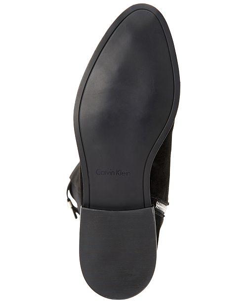 73f806de9c5 Calvin Klein Women s Priya Wide Calf Over-The-Knee Boots   Reviews ...