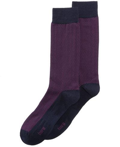 Bar III Men's Herringbone Socks, Created for Macy's