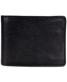 Patricia Nash Men's Leather Double Billfold Wallet