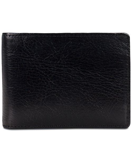 Patricia Nash Men's Leather Money Clip Wallet