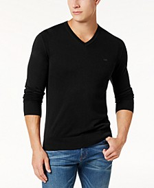 Men's Classic V-Neck Sweater