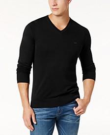 Men's Classic V-Neck Sweater