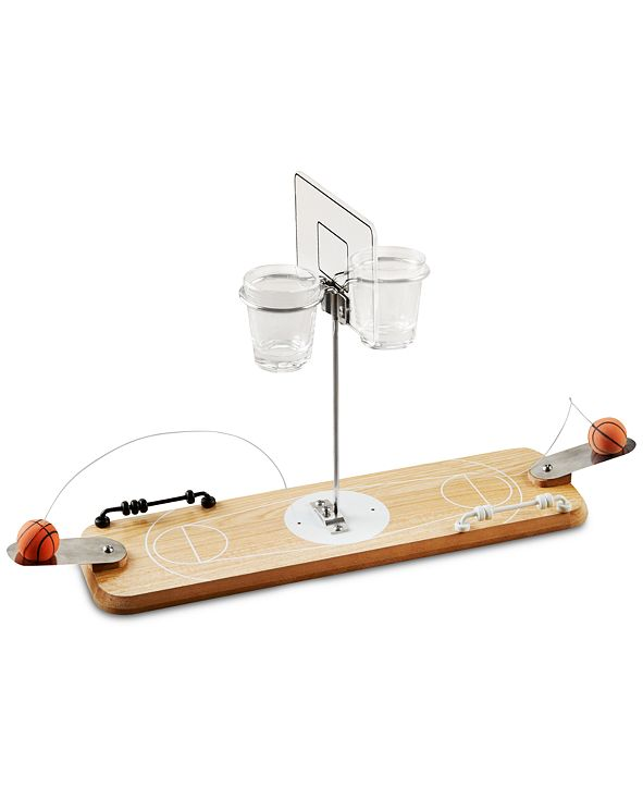 Studio Mercantile Basketball 2-Player Wood Shots Game, Created for Macy's
