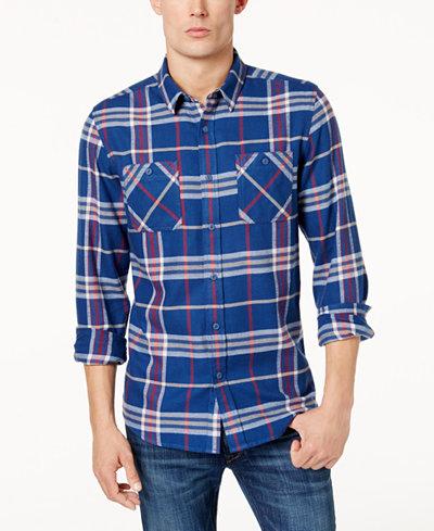 American Rag Men's Kendrick Flannel Shirt, Created for Macy's