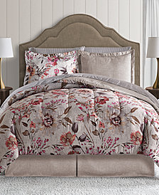 Meadow 8-Pc. Full Reversible Bedding Ensemble