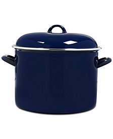 Victoria 10-Qt. Enamel-Coated Stockpot
