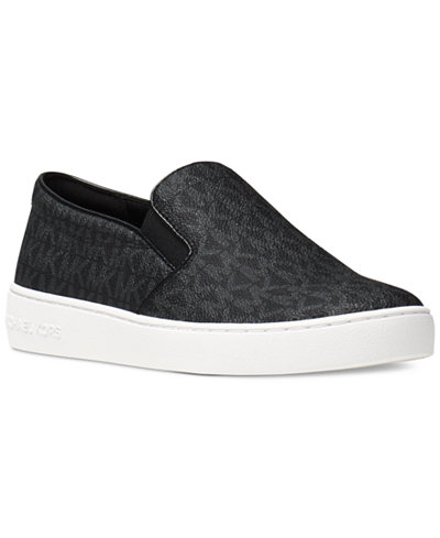 MICHAEL Michael Kors Keaton Slip-On Logo Sneakers