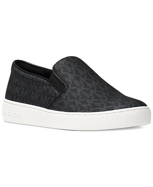 c475b0c6d8a51 Michael Kors Keaton Slip-On Logo Sneakers   Reviews - Sneakers ...