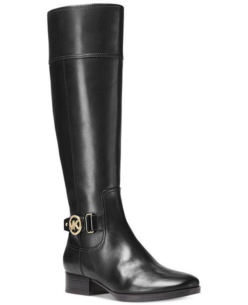 bdb35b5afc28 Michael Kors Harland Wide Calf Riding Boots   Reviews - Boots ...