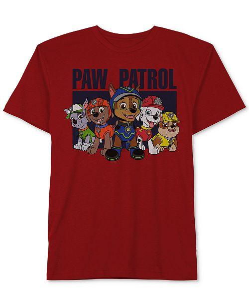 f5b0e8386c134 Jem Nickelodeon's® Paw Patrol-Print Cotton T-Shirt, Little Boys ...