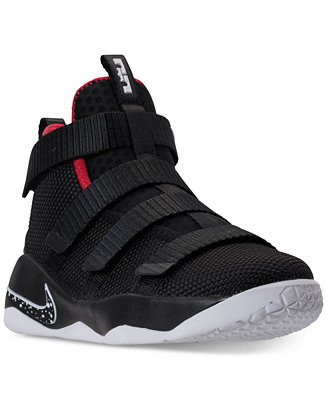 f7a1cec6996 Nike Little Boys  LeBron Soldier 11 Basketball Sneakers from Finish Line    Reviews - Finish Line Athletic Shoes - Kids - Macy s