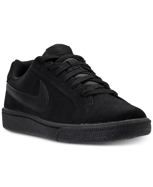 newest 49145 ede07 ... Nike Mens Court Royale Suede Casual Sneakers from Finish ...
