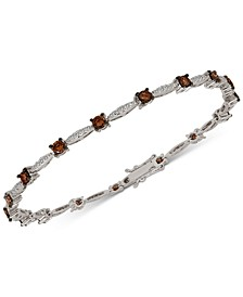 Chocolatier® Diamond Link Bracelet (2-3/8 ct. t.w.) in 14k White Gold