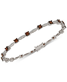 Le Vian Chocolatier® Diamond Link Bracelet (2-3/8 ct. t.w.) in 14k White Gold