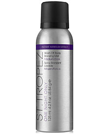 St. Tropez One Night Only Wash Off Body Bronzing Mist - Medium/Dark