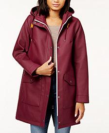Levi's® Hooded Front Zip Raincoat