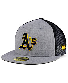 New Era Oakland Athletics New School Mesh 59FIFTY Fitted Cap