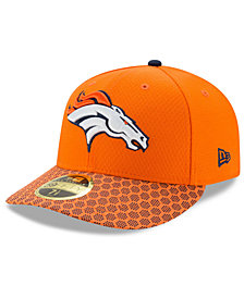 New Era Denver Broncos Sideline Low Profile 59FIFTY Fitted Cap