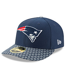 New Era New England Patriots Sideline Low Profile 59FIFTY Fitted Cap