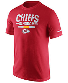 Nike Men's Kansas City Chiefs Local Verbiage T-Shirt
