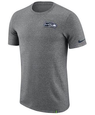 Nike Men's Seattle Seahawks Marled Patch T-Shirt