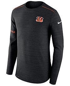 Nike Men's Cincinnati Bengals Player Top Long Sleeve T-Shirt