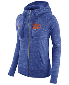 Nike Women's Florida Gators Gym Vintage Full-Zip Hoodie