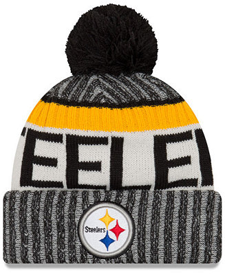bda93153c New Era Pittsburgh Steelers Sport Knit Hat - Sports Fan Shop By Lids - Men  - Macy s