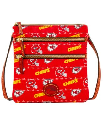 Kansas City Chiefs Nylon Triple Zip Crossbody