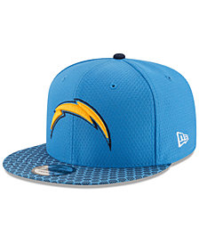 New Era Boys' Los Angeles Chargers 2017 Official Sideline 9FIFTY Snapback Cap