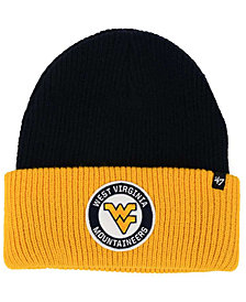 '47 Brand West Virginia Mountaineers Ice Block Knit