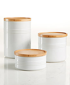 Le Creuset 3-Pc. Canister Set