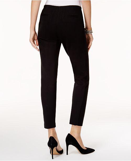 Deep for Ponte Macy's Skinny Black Pants Created Modern Alfani wP0AZq1
