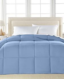 Lightweight Microfiber Color Down Alternative King Comforter, Hypoallergenic Polyester Fiberfill